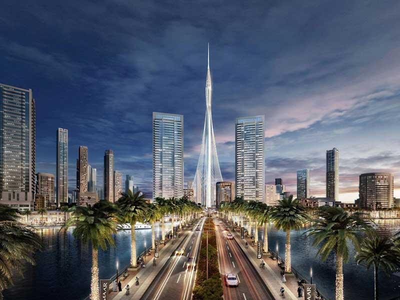 بلندترین برج جدید جهان در دبی