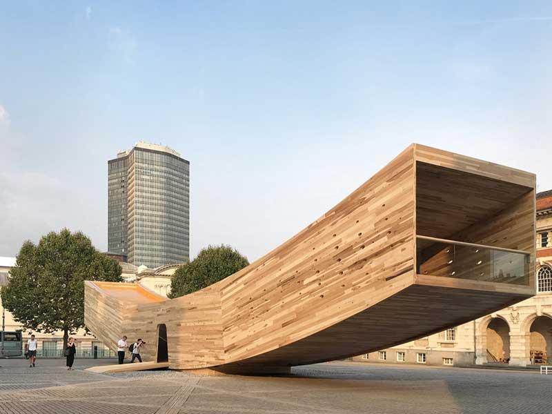 طرح لبخند/ معماران Alison Brooks