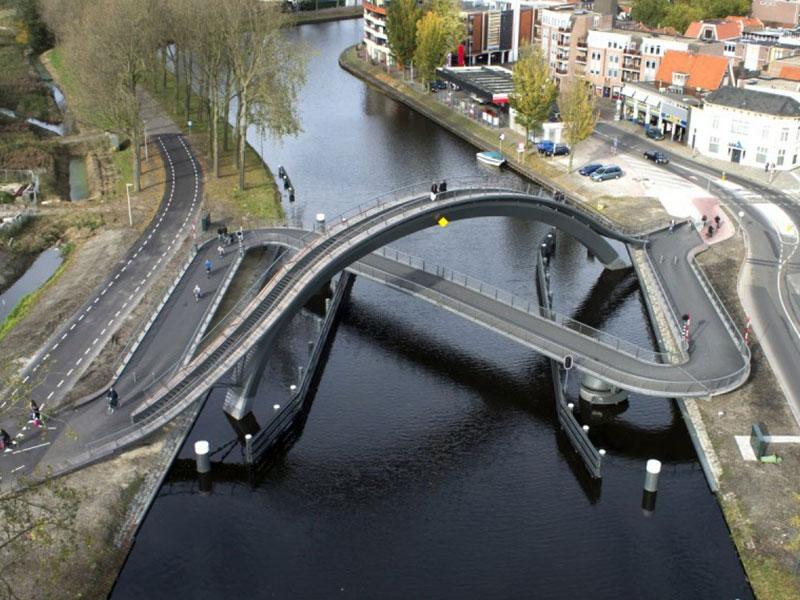 طراحی ۹ پل عابر پیاده جالب از سراسر جهان