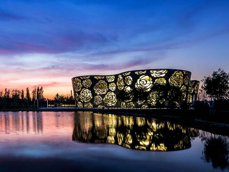 موزه گل رز در پکن چین