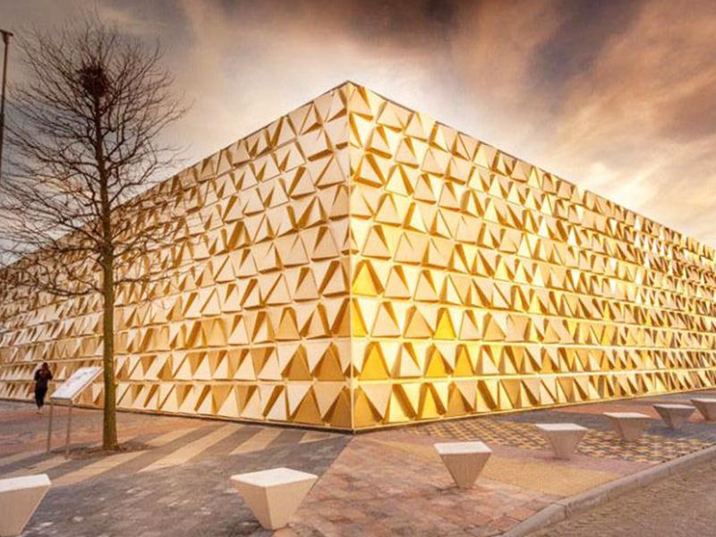 معرفی پنج ساخت و ساز ساختمان با نماهای خلاقانه