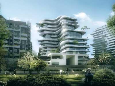 ۱۱ ساختمان ویژه که در سال ۲۰۲۰ تکمیل میشوند