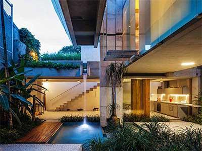 کاربردهای خلاقانه آب در معماری