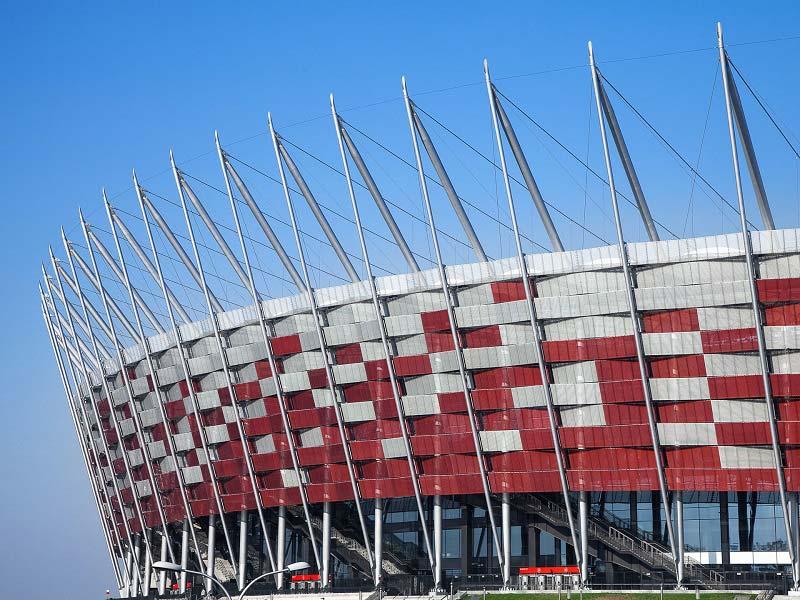 ورزشگاه ملی ورشو، لهستان (۲۰۱۱-۲۰۰۸)