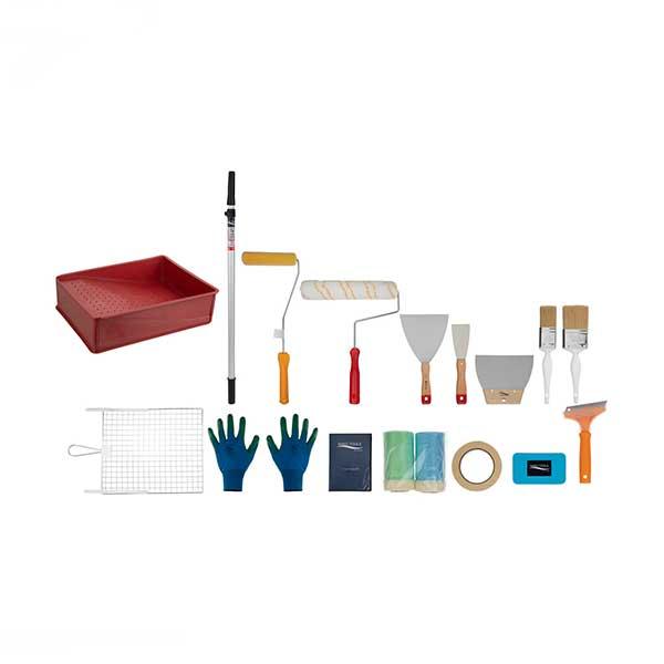 مجموعه 20 عددی ابزار نقاشی ساختمان نانو تولز کد 01