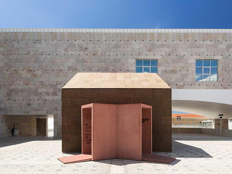 مواد غیرمعمول در معماری