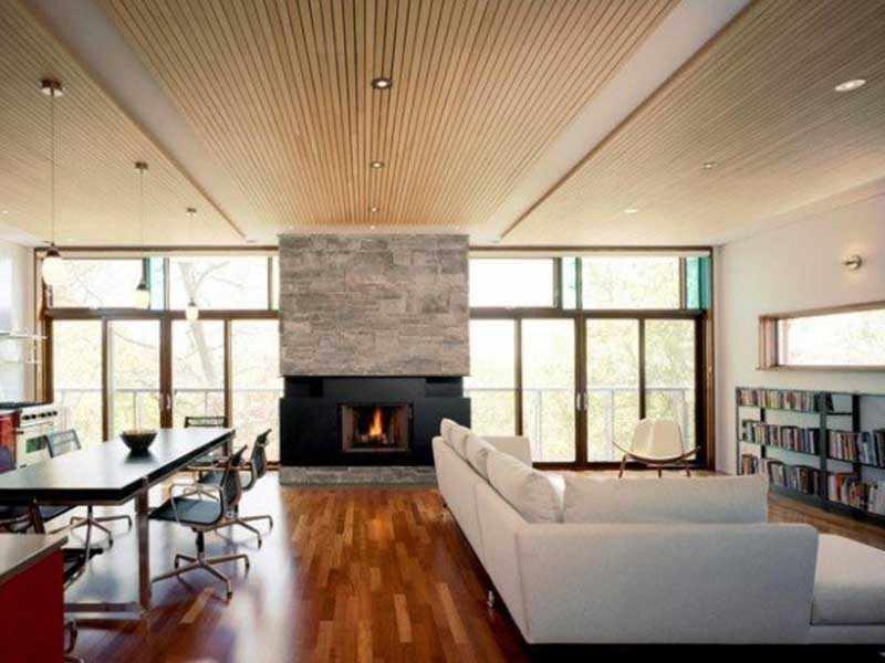 طراحی سقف با ترموود