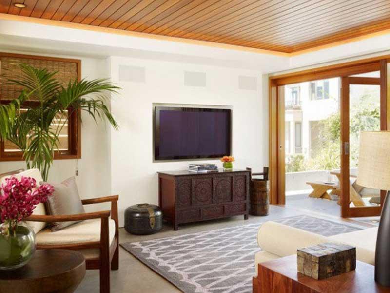 طراحی سقف با ترموود: جلوه زیبا، دوام عالی